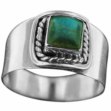 wholesale Sterling Silver Gemstone Ring (rn114lb)