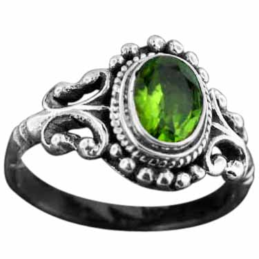 Sterling Silver Gemstone Rings (rn40prf_8)