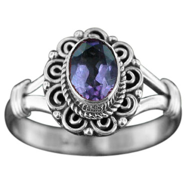 wholesale Sterling Silver Gemstone Ring (rn831amef_7)