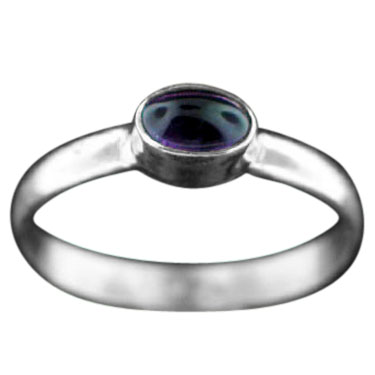 wholesale Stackable Silver Gemstone Rings (rst02amef)