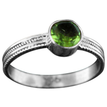 wholesale Stackable Sterling SIlver & Gemstone Ring (rst03prf_9)